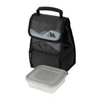 Arctic Zone Hi-Top Black Power Pack Lunch Bag, 1 Each