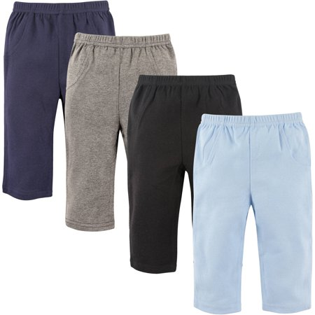Luvable Friends Baby Boy Pants, (Infant Karate Pant)