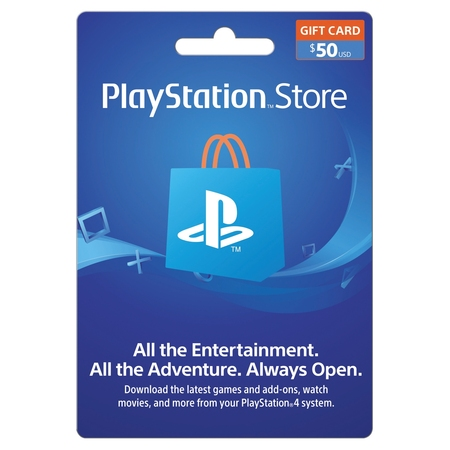 PlayStation Store $50 Gift Card, Sony [Digital Download]