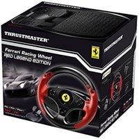 Thrustmaster - Ferrari Red Legend Edition Racing Wheel for PC