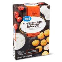 Great Value Goat Cheese Blend & Peppadew Pepper Bites, 8.33 oz