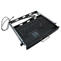 Adesso EasyTouch 730 PS/2 Touchpad Keyboard w/ Rackmount