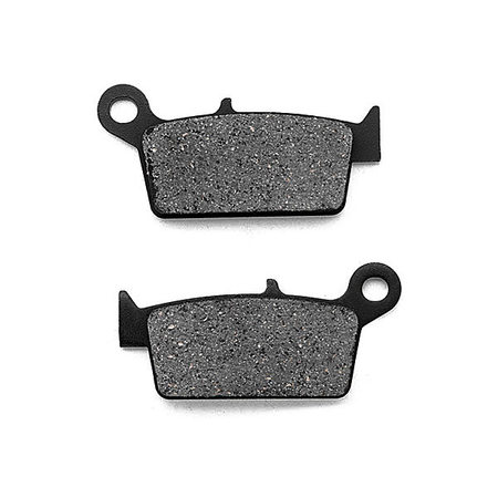 KMG Rear Brake Pads for 2004-2008 TM MX 85 JR (2T) - Non-Metallic Organic NAO Brake Pads Set