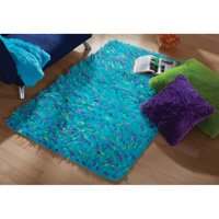 """your zone blue spiker rug, 3' x 4'8"""""""