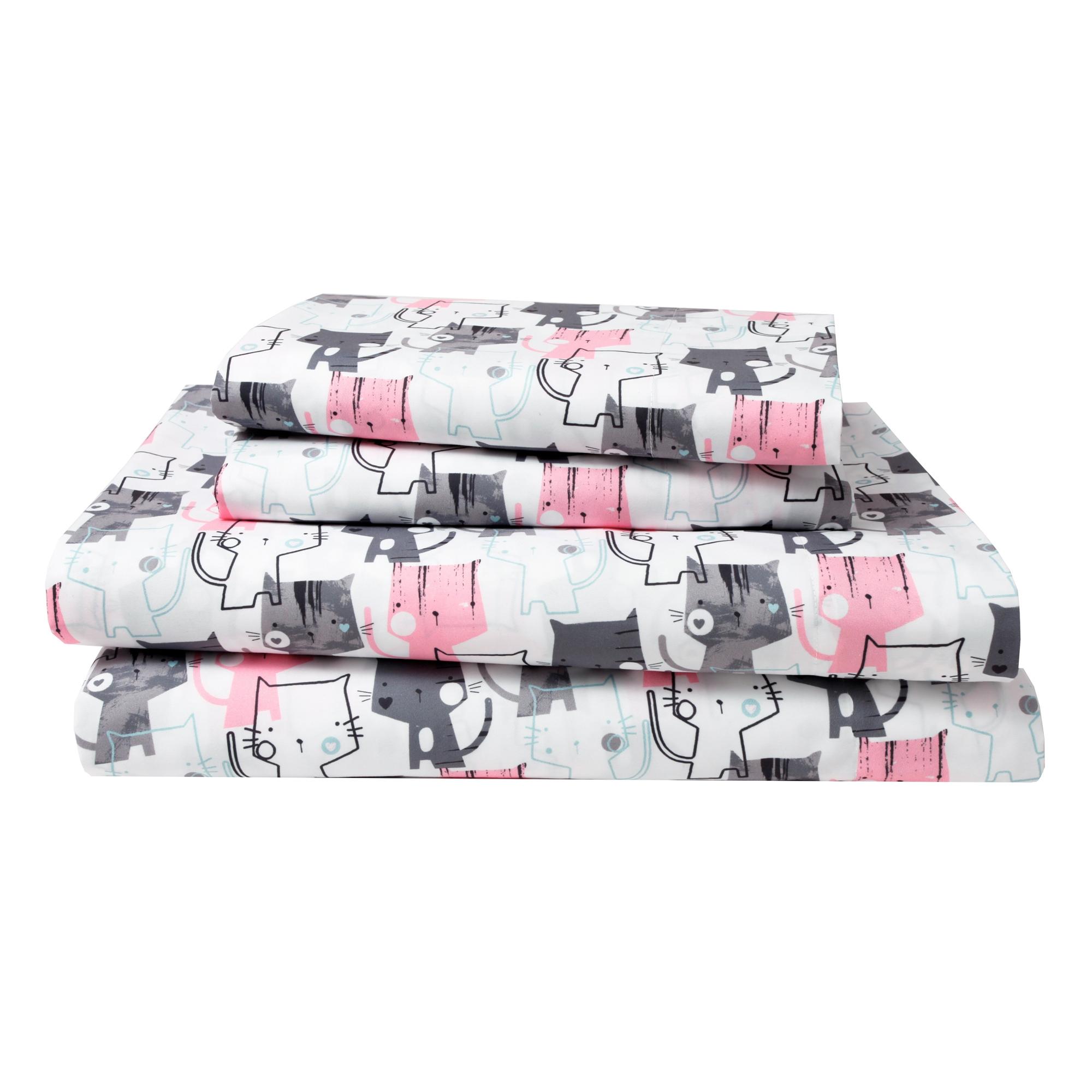 Pink Bed Sheet Sets