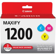 Canon, CNMPGI1200CMY, PGI-1200 MAXIFY Color Ink Tank, 3 / Pack