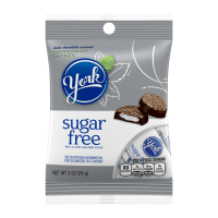 (4 pack) York, Peppermint Patties Sugar Free Candy, 3 Oz
