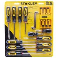 STANLEY 60-220 20-Piece Screwdriver Set