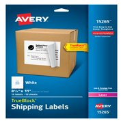 Avery Internet Shipping Labels, 8-1/2