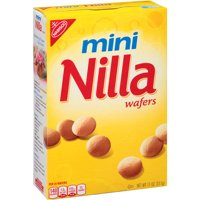 (3 Pack) Nabisco Mini Nilla Wafers, 11 oz
