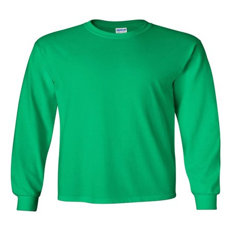 Deluxe Long Sleeve Shirt - Gildan - Ultra Cotton Long Sleeve T-Shirt - 2400
