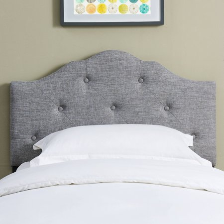 Mainstays Minimal Tufted Rounded Headboard Only $39.99