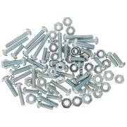 Bulldog Hardware® 80 ct. Machine Screw Value Kit Plastic Container
