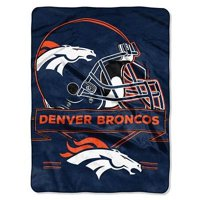 "NFL Denver Broncos ""Prestige"" 60"" x 80"" Raschel Throw"