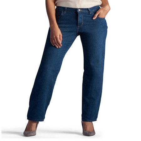 Relaxed Straight Fit Jeans (Women's Relaxed Fit Straight Leg Jean )