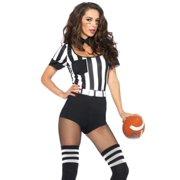 b3d70a79be6b61 Leg Avenue Women s 3 Piece No Rules Referee Costume