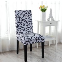 Product Image Stretchy Dining Chair Cover Short Covers Washable Protector