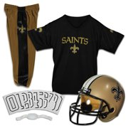 1e1eac998 Franklin Sports NFL New Orleans Saints Youth Licensed Deluxe Uniform Set
