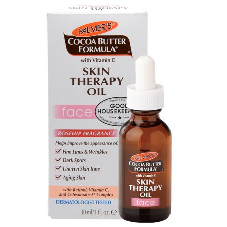 Palmer's Cocoa Butter with Vitamin E Skin Therapy Oil for Face, 1 Ounce 1 Ounce Skin Mat