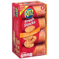 (2 Pack) Ritz Whole Wheat Crackers in Fresh Stacks, 11.6 oz