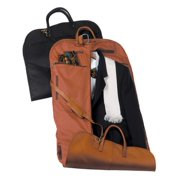 ed57747493bf Royce Leather Garment Bag Travel Luggage in Milano Genuine Leather