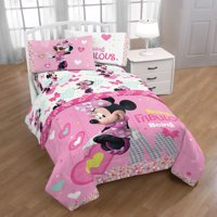 Disney Minnie Mouse Kid's Bedding Twin Sheet Set, 1 Each