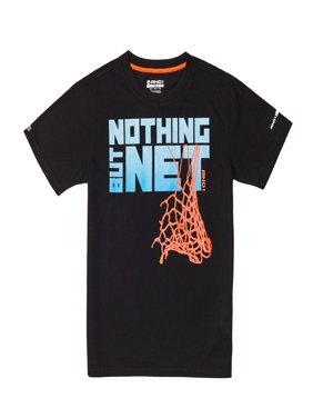 Graphic Tee Nothing But Net Basketball Shirt (Little Boys & Big Boys)