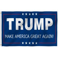 ANLEY [Fly Breeze] 3x5 Feet Donald Trump President Flag - Vivid Color and UV Fade Resistant - Canvas Header and Brass Grommets - Make America Great Again Banner Flags