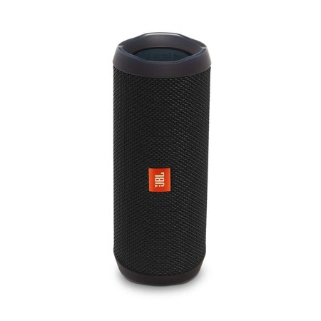 JBL Flip 4 Waterproof Bluetooth Speaker -Black