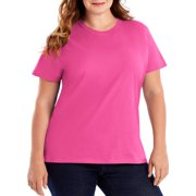 9fe83796 Women's Plus Size Lightweight Short Sleeve T-shirt