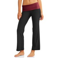 No Boundaries Juniors' Flare Yoga Pants (Prints & Solids)