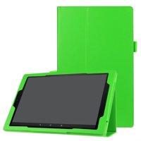 Fire HD 10 Case, Dteck Lightweight Slim PU Leather Flip Folio Cover For Amazon Kindle Fire HD 10 Tablet (2015/2017) - purple