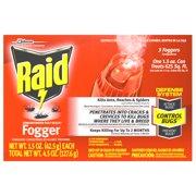 Raid Concentrated Deep Reach Fogger (3 count, 1.5 Ounces)