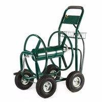 XtremepowerUS 300ft Water Hose Reel Cart Garden Outdoor Planting
