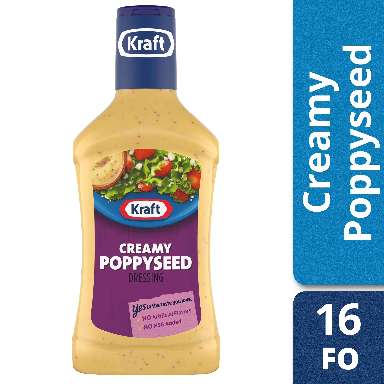 Kraft Creamy Poppyseed Salad Dressing - 16fl oz