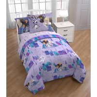 Frozen Kids 5Pc Bedding Set, Twin, Bed in a Bag with BONUS TOTE!, Olaf Family Ties