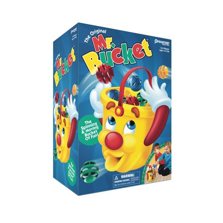 Pressman Toy Mr. Bucket Kids Game for Ages 3 and - Paper Toss Game