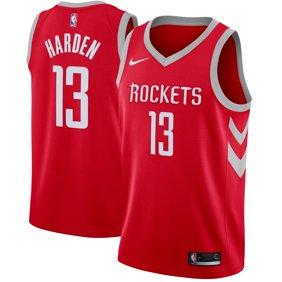 6c8d6f7e0 James Harden Houston Rockets Nike Swingman Jersey Red - Icon Edition