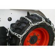 Heavy Duty 10-16.5 Skidsteer Tire Chains, 4 Link Spacing
