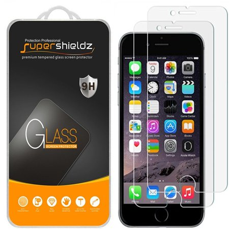 [2-Pack] Supershieldz for Apple iPhone 8 / iPhone 7 Tempered Glass Screen Protector, Anti-Scratch, Anti-Fingerprint, Bubble Free [3D Touch Compatible]