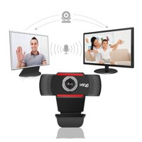 HXSJ S30 Foldable 720P HD Webcam Computer Camera with Sound-absorbing Microphone Mic For Skype Computer Laptop Desktop