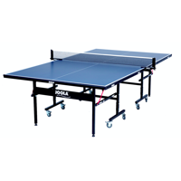 JOOLA Inside 15 Table Tennis Table with Net Set, 15mm, 9' x 5', Blue