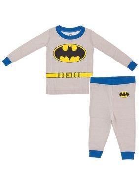 Boys' Gray Long Sleeve 2 Piece Pajama Sleep Set