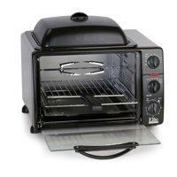 Elite Cuisine ERO-2008S Pro 23 Liter Toaster Oven w/Rotisserie & Grill/Griddle