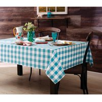 """The Pioneer Woman Charming Check Tablecloth, 52""""W x 70""""L"""