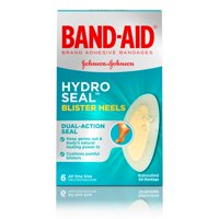 Band-Aid Brand Hydro Seal Adhesive Bandages for Heel Blisters, 6 Count