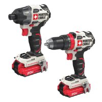 PORTER CABLE 20-Volt Max 2-Tool Brushless Combo Kit, PCCK619L2