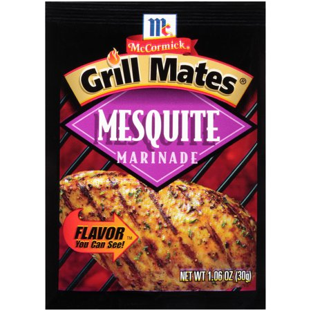 Mesquite Marinade - (4 Pack) McCormick Grill Mates Mesquite Marinade, 1.06 oz