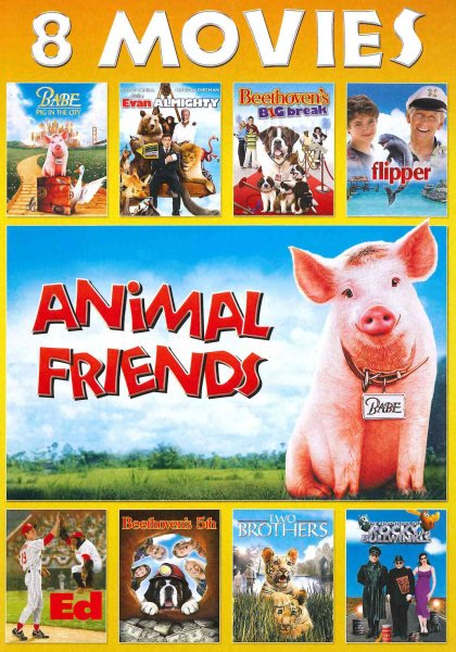 Animal Friends 8-Movie Collection (DVD) (Halloween Movies For Kids Full Movies)