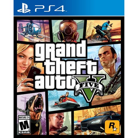 Grand Theft Auto V, Rockstar Games, PlayStation 4 (Gta V Best Price)